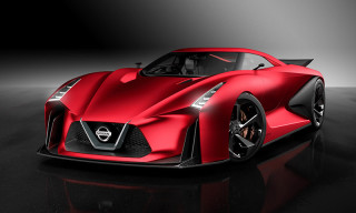 "The Nissan Concept 2020 Vision Gran Turismo Looks Devilish in ""Fire Knight Red"""