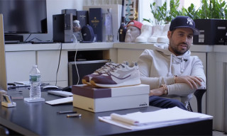 Watch Ronnie Fieg Hand-Deliver His Diadora RF7000 Collaboration