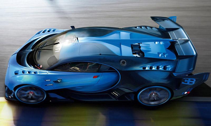 the making of the bugatti vision gran turismo | highsnobiety