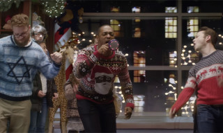 "Seth Rogen & Joseph Gordon-Levitt Perform Kanye's ""Runaway"" in 'The Night Before' Clip"