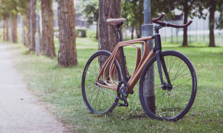 Check out This 19th Century-Inspired Wooden Bicycle Frame