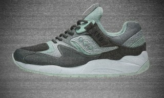 "END. & Saucony Channel Analog TV With the GRID 9000 ""WHITE/NOISE"""