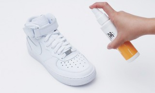 "Keep Your Kicks Fresh With ""2E"" Sneaker Spray"