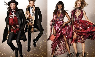 Burberry Launches Their All-Star Festive Campaign for 2015