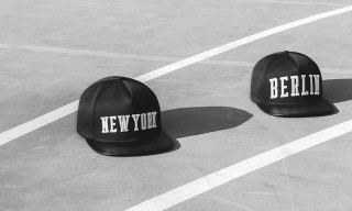 Represent New York and Berlin With Highsnobiety x Stampd Snapback Caps