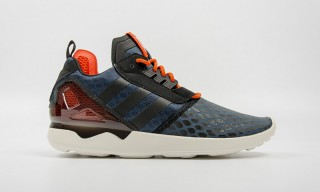"adidas Drops the ZX 8000 Boost in ""Core Black/Collegiate Orange"""
