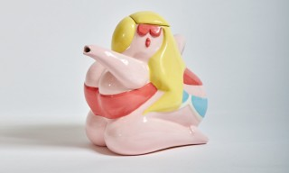 Todd James & Case Studyo Imagine a Voluptuous Woman as a Teapot