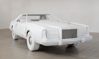 This Lincoln Continental Is Made Entirely of Cardboard
