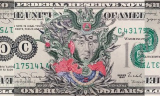 This One Hundred-Dollar Bill Collage Is Stunning