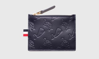 """Thom Browne """"Animal"""" Leather Pouches"""