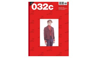 Gosha Rubchinskiy Shoots Limited Edition 032c Issue 29 Cover
