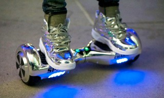 This Hoverboard & Sneaker Combo Pack Is out of This World
