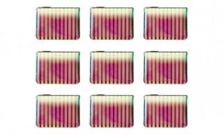 COMME des GARÇONS' Drops Crazy Stripe Wallets