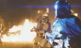 Get Nostalgic With This VHS-Style 'Star Wars: The Force Awakens' Trailer