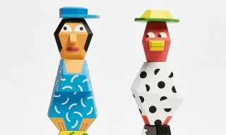 Andy Rementer & Case Studyo Conjure up a Quirky Wooden Couple