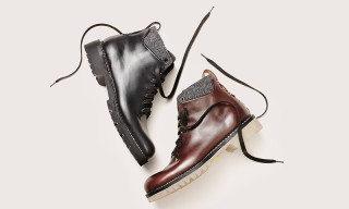 FEIT Drops Limited Edition Leather 8-Eye Lace Up Boot