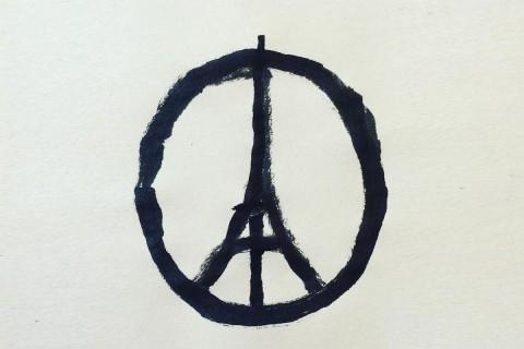 Jean Julliens Peace For Paris Illustration Becomes Symbol Of
