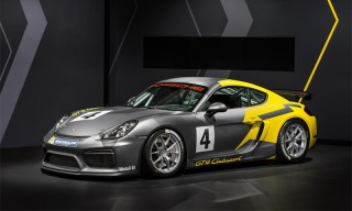 Porsche Heads for the Track With Cayman GT4 Clubsport