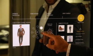 Ralph Lauren & Oak Labs Unveil Futuristic Interactive Fitting Rooms