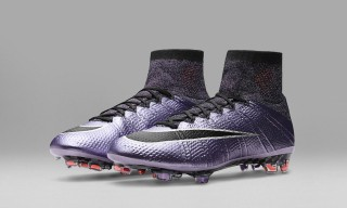 "Nike Football's ""Liquid Chrome"" Pack Creates Dazzling Effects on the Pitch"