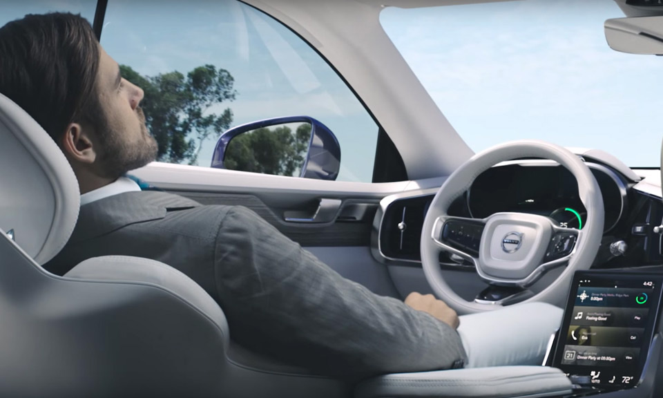 Volvo Unveils Concept 26 Self Driving Car Highsnobiety