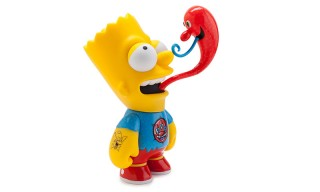 Kidrobot Releases 'The Simpsons' Bart Medium Figure by Kenny Scharf