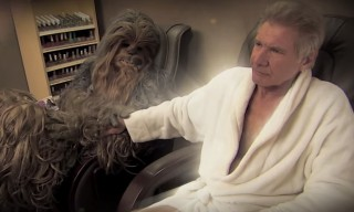 Harrison Ford and Chewbacca Finally Settle Their Differences on 'Jimmy Kimmel'