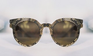 MYKITA x Maison Margiela's Latest Sunglasses Are Hand-Etched With Snakeskin Patterns