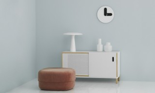 "Normann Copenhagen Unveil Minimalistic ""Bold"" Wall Clock"
