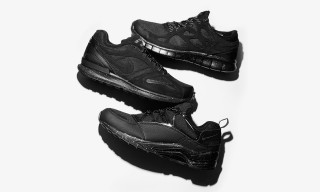 size? and Nike Drop Special Murdered-Out Sneakers for Black Friday