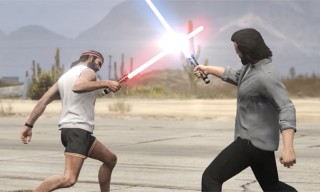 'GTA V' Characters Battle With Lightsabers in this Perfectly Executed Video