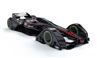 McLaren Introduces the MP4-X, the Future of Racing