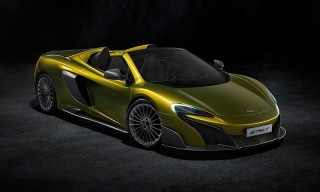 McLaren's 675LT Spider Carries on the Company's Longtail Tradition