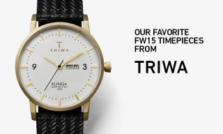 Our Favorite FW15 Timepieces From the TRIWA Watchmakers of Stockholm