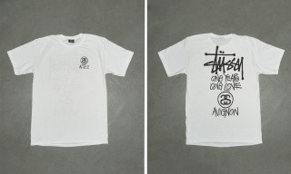 Stussy Celebrates Acte.2's First Anniversary With a Special Edition Tee