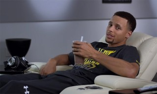 Stephen Curry Shows the Perks of Being a Pro in New Foot Locker Holiday Spot