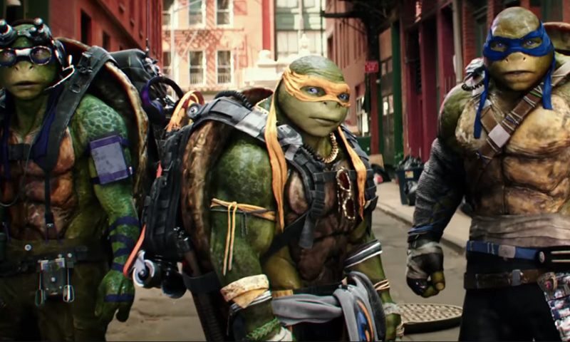 'Teenage Mutant Ninja Turtles: Out Of The Shadows' Trailer