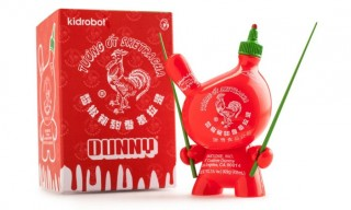 Kidrobot and Sket One Offer Their Interpretation of the Sriracha Bottle