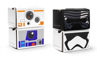 Google Launches Free 'Star Wars: The Force Awakens' Cardboard Virtual Reality Headsets