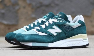 "New Balance M998 Made in USA ""Emerald"""