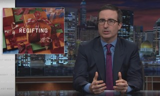 John Oliver Explains the Art of Regifting