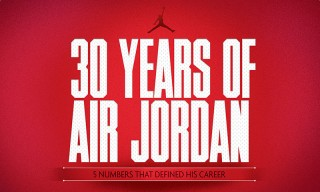 30 Years of Air Jordan: 5 Numbers That Defined His Career