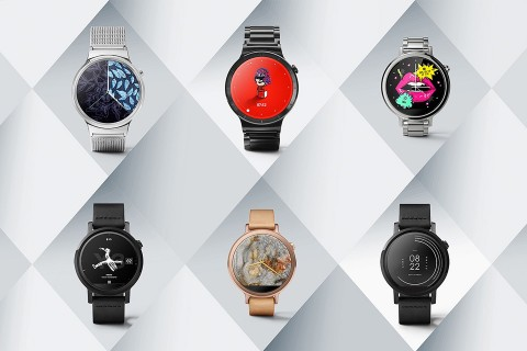 Android Wear Watch Faces Designed by Fashion Labels