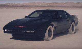The Hoff & KITT Return in the All-New 'Knight Rider Heroes' Trailer