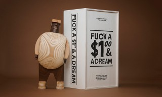 Grotesk & Case Studyo Link for Biggie-Inspired Sculpture