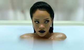 "Rihanna Takes a Soothing Bath for Her ""ANTI diaRy"" Campaign"