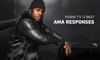 Pusha T Talks 'SWISH,' Narcos & More on Reddit's AMA
