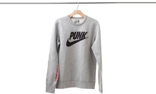 "This ""Punk"" Crewneck Is the Perfect Nike Parody Sweater"