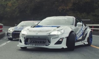 Vintage & Modern Race Cars Tear up the Motorhead Hill Climb in Japan