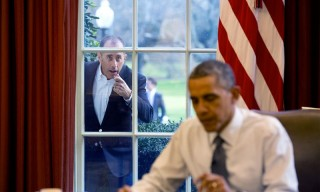 Obama Takes Jerry Seinfeld for a Drive Around the White House